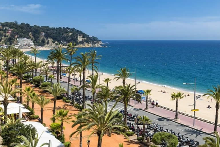 Lloret de Mar in 2019