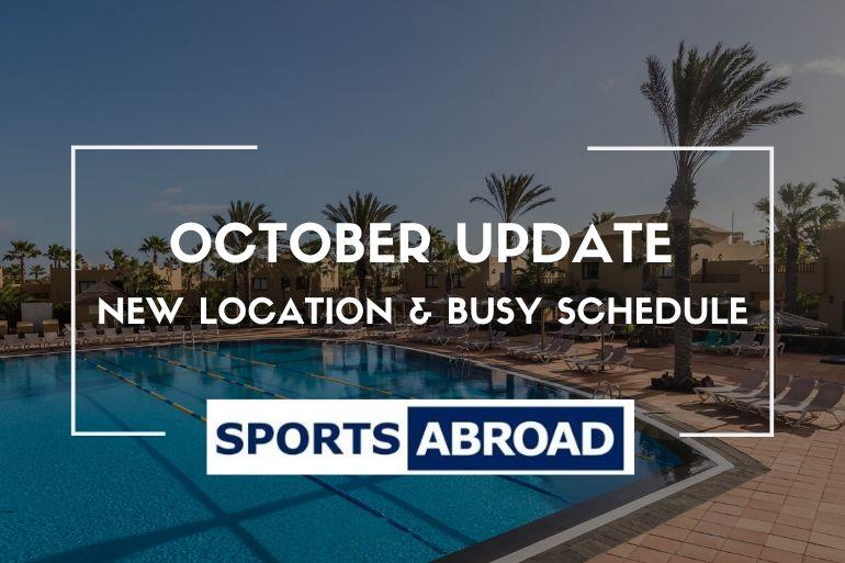 October Update!